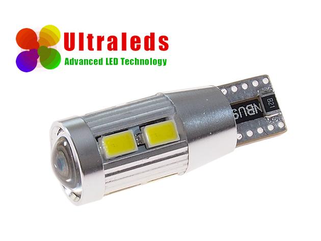 Rewelacyjna żarówka LED canbus T10 W5W